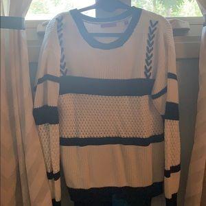 W&B crewneck sweater